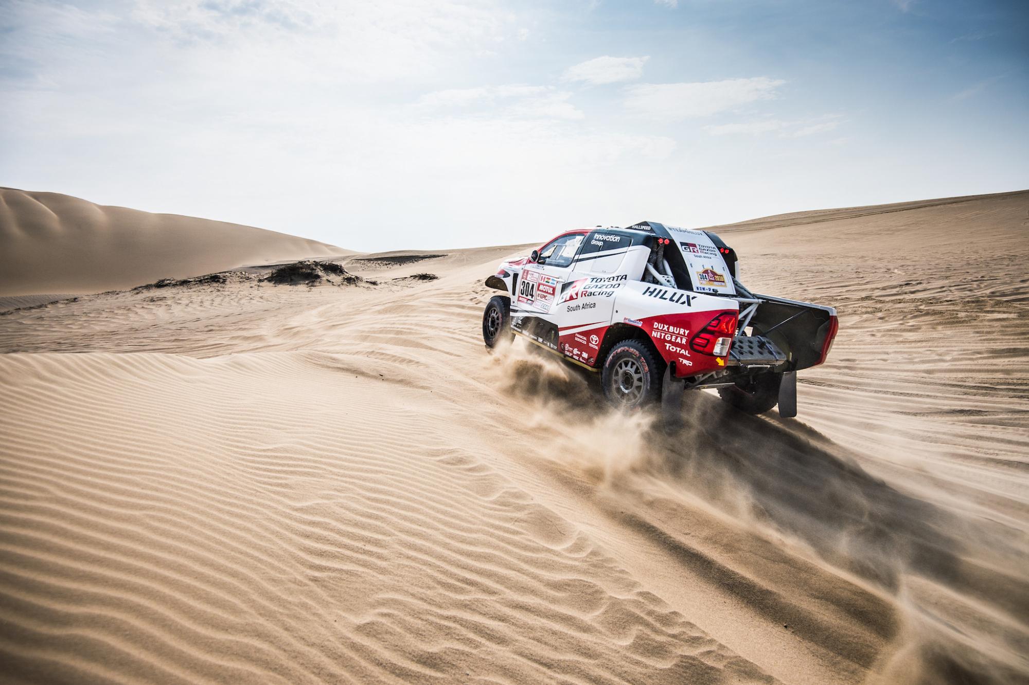 De Villiers, Dakar 2018