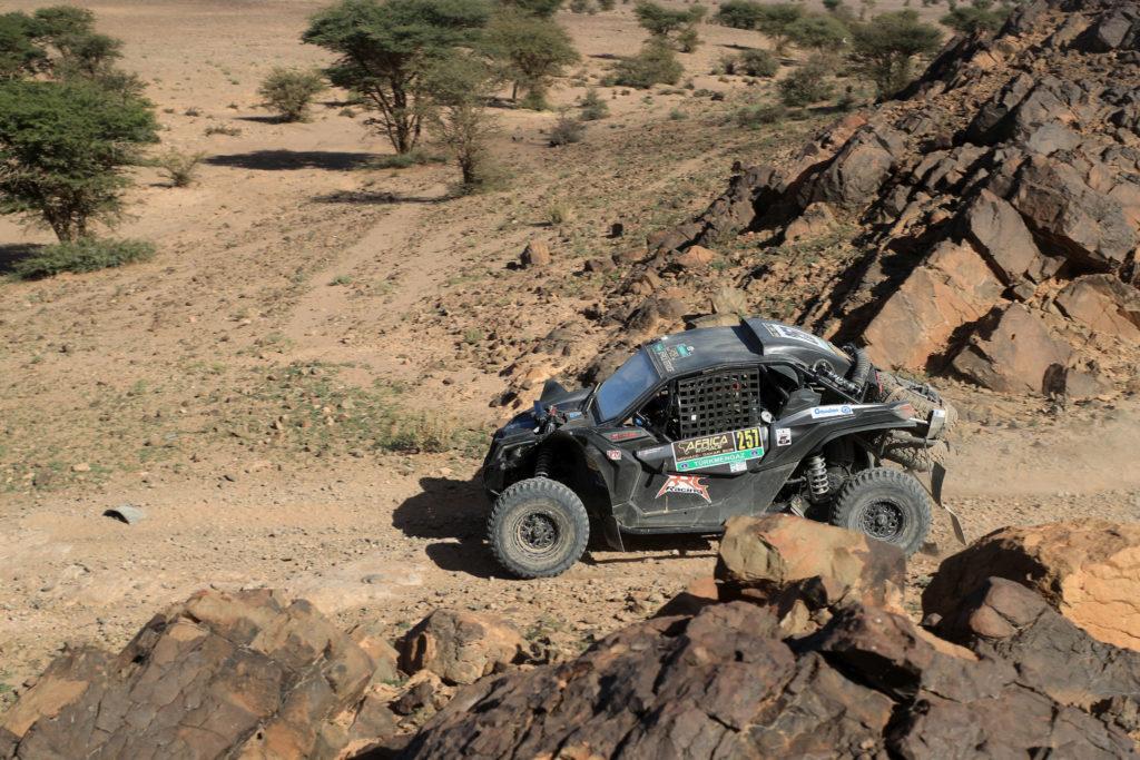Rudy Roquesalane, Africa Eco Race 2019