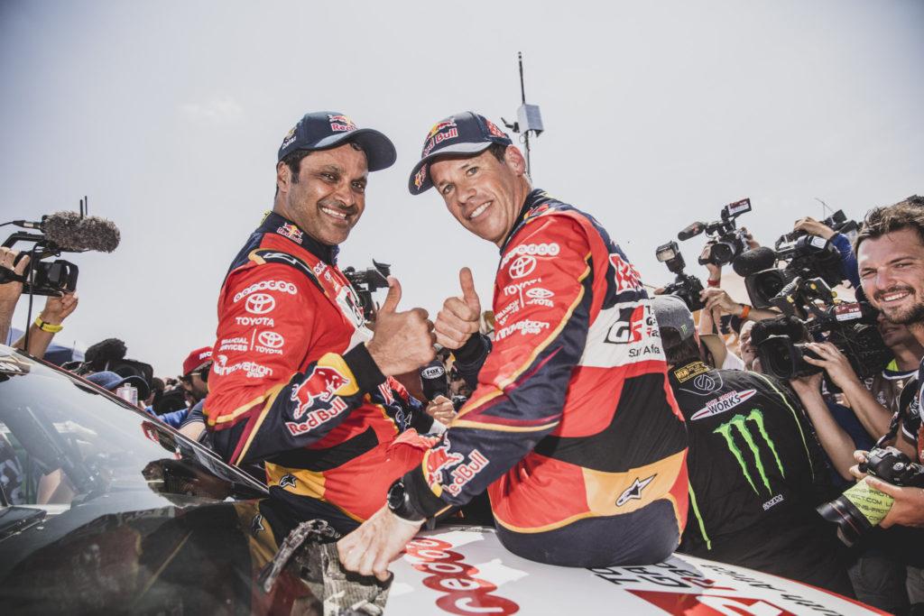 Nasser Al-Attiyah & Mathieu Baumel, Dakar 2019