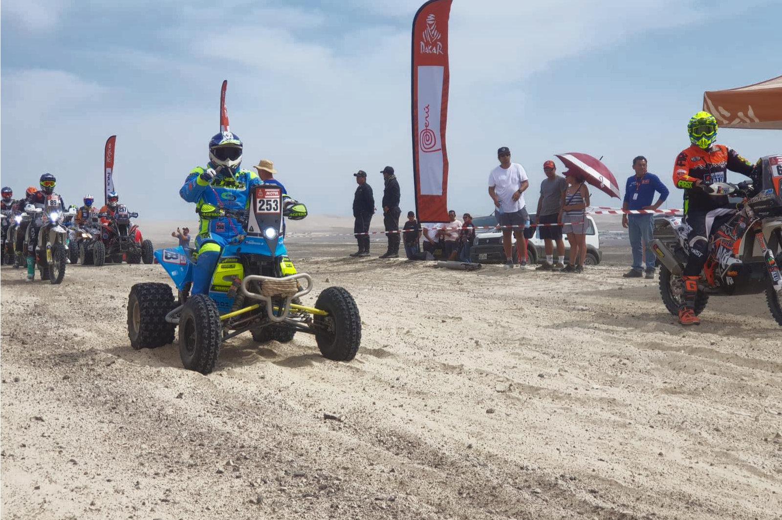 Tomáš Kubiena, Dakar 2019
