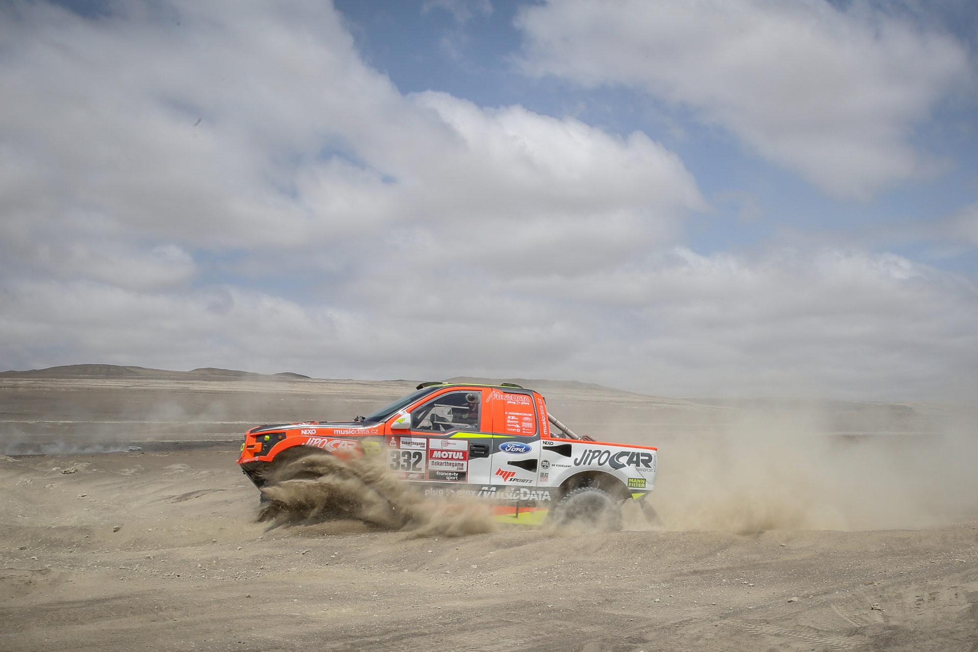 Tomáš Ouředníček, Dakar 2019