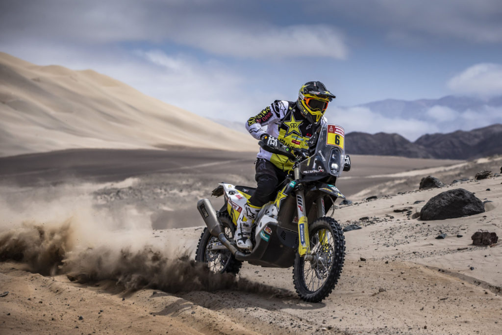 Pablo Quintanilla, Dakar 2019