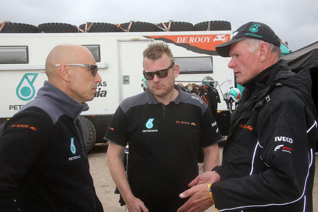Torrallardona, De Rooy, Van Leuven, Dakar 2019