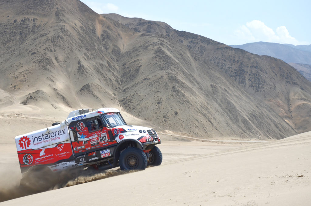 Loprais, test Dakar 2019
