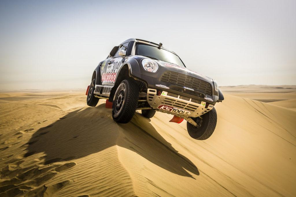 Nasser Al-Attiyah, Sealine Cross-Country Rally 2014