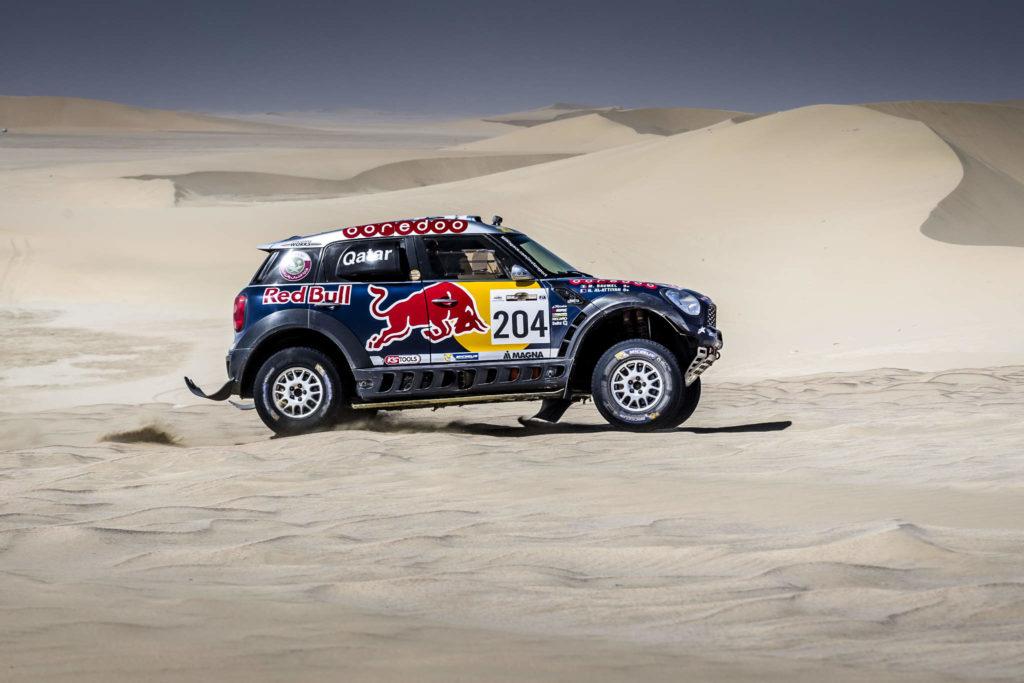 Nasser Al-Attiyah, Sealine Cross-Country Rally 2015