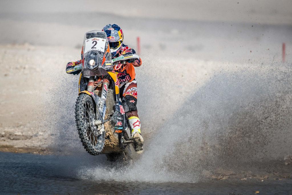 Sam Sunderland, Qatar Cross-Country Rally 2017