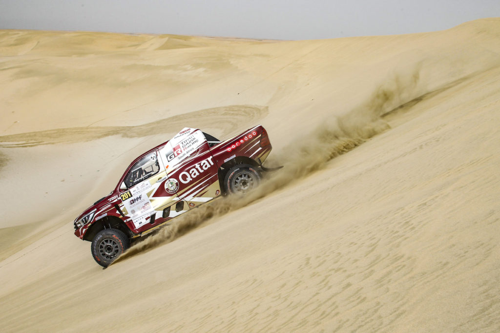 Nasser Al-Attiyah, Qatar Cross-Country Rally 2018