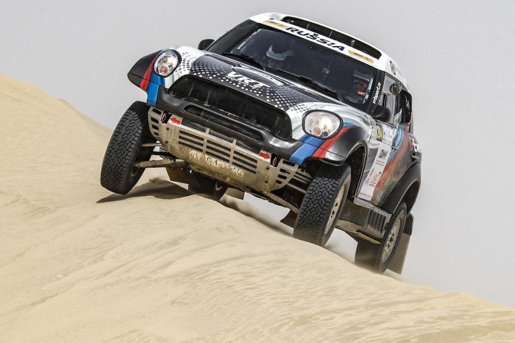 Vladimir Vasiljev, Qatar Cross-Country Rally 2018