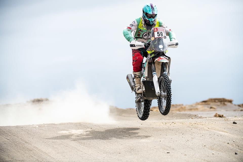 Petr Vlček, Dakar 2019