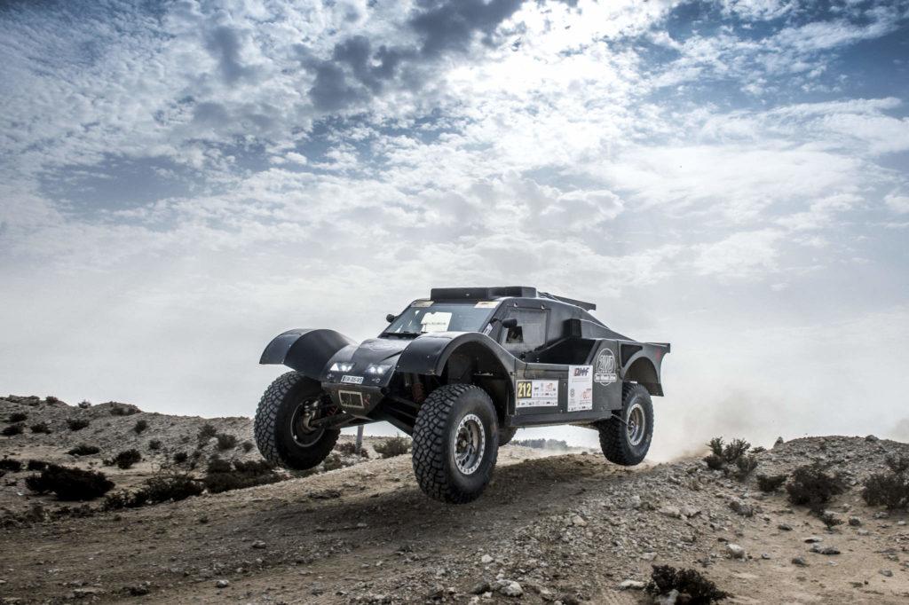 Eugenio Amos, Qatar Cross-Country Rally 2019