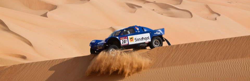 Jean-Louis Schlesser, Abu Dhabi Desert Challenge 2012