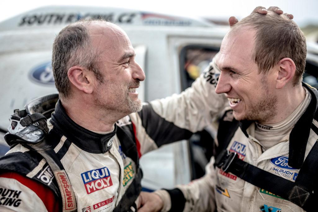 Tomáš Ouředníček & David Křípal, Dakar 2018