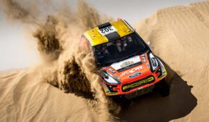 Martin Prokop, Dubai International Baja 2018
