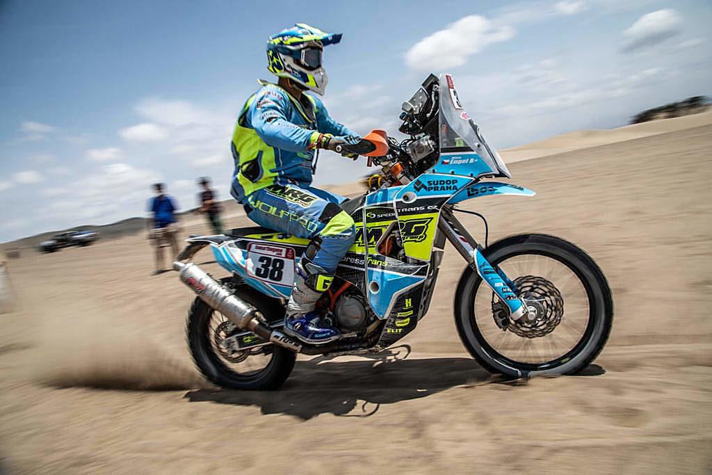 Milan Engel, Rally Dakar 2019
