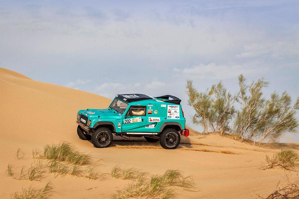 Jurij Sazonov, Rally Kazakhstan 2016
