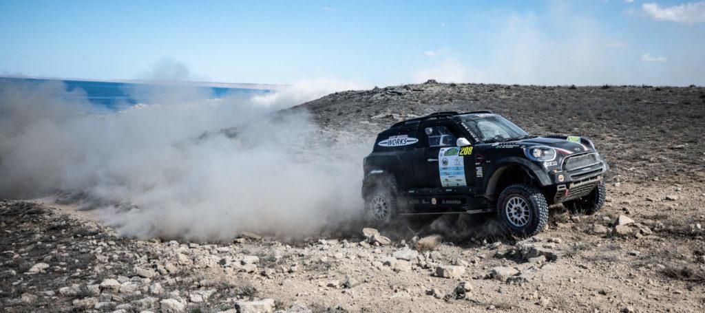 Yazeed Al-Rajhi, Rally Kazakhstan 2018