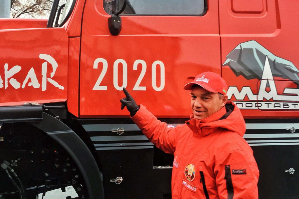 Sergej Vjazovič, MAZ 6440RR