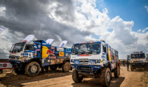 Kamaz-Master, Silk Way Rally 2018