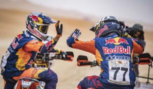 Sam Sunderland & Luciano Benavides, Abu Dhabi Desert Challenge 2019