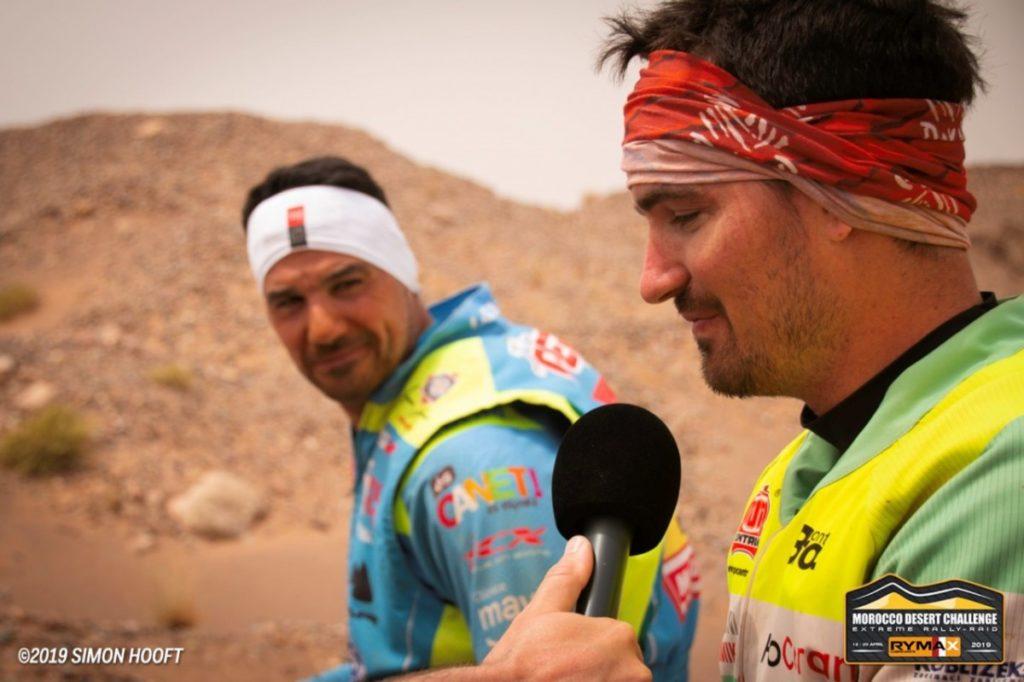 Skyler Howes & Joan Pedrero, Morocco Desert Challenge 2019