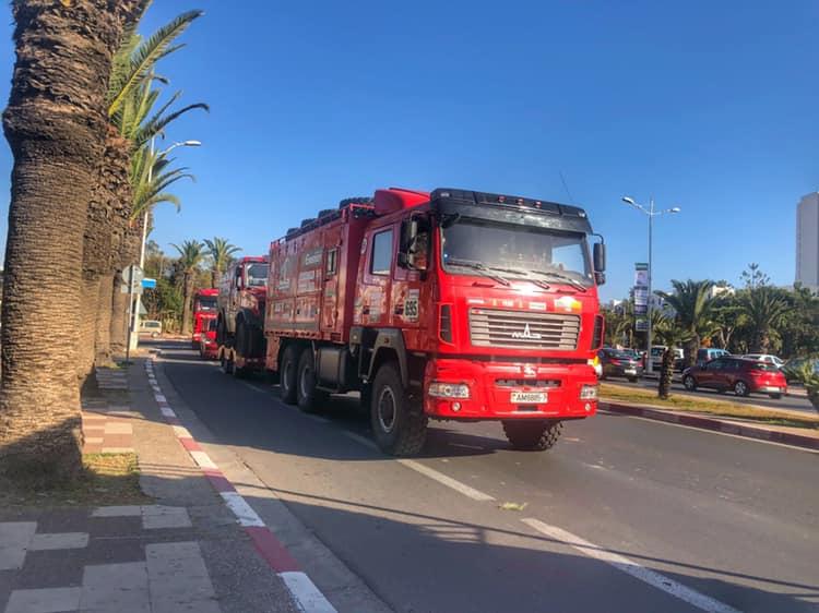 MAZ-Sportauto, Morocco Desert Challenge 2019