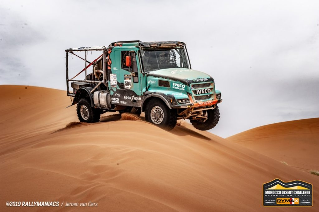 Ton van Genugten, Morocco Desert Challenge 2019