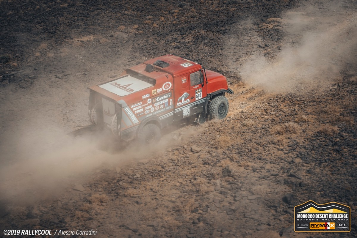 Sergej Vjazovič, Morocco Desert Challenge 2019