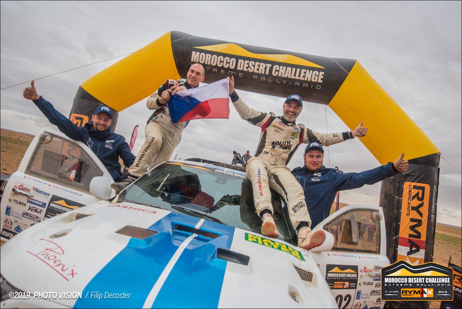 Tomáš Ouředníček, David Křípal, Morocco Desert Challenge 2019