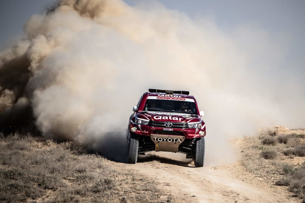 Nasser Al-Attiyah, Rally Kazakhstan 2018