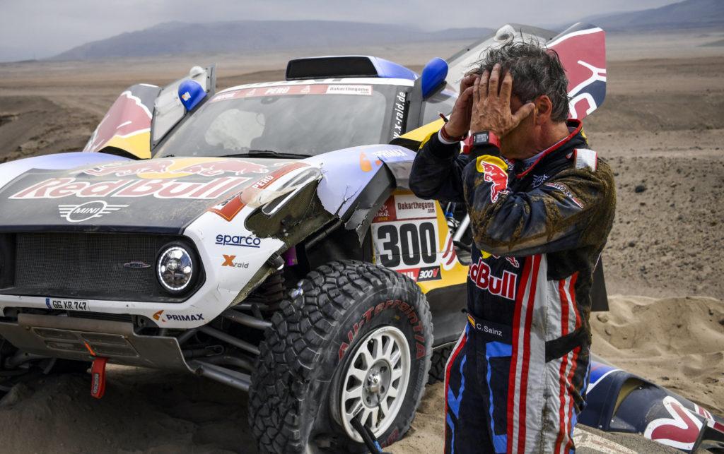 Carlos Sainz, Dakar 2019