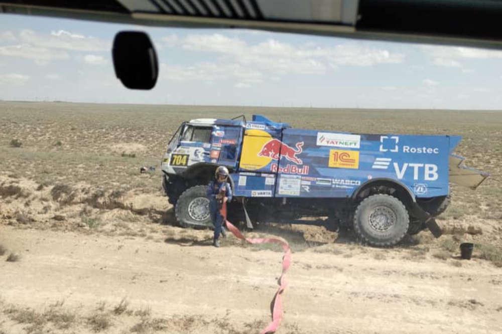 Eduard Nikolajev, Rally Kazakhstan 2019