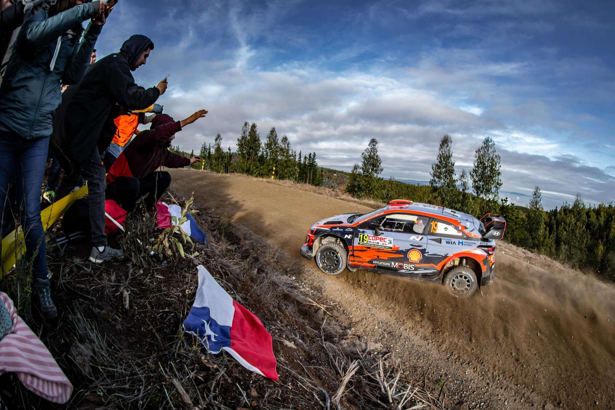 Sébastien Loeb, Rally Chile 2019