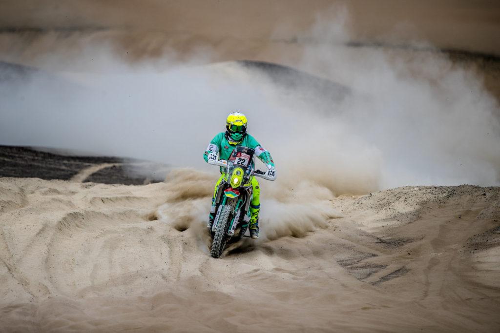 Ondřej Klymčiw, Dakar 2018