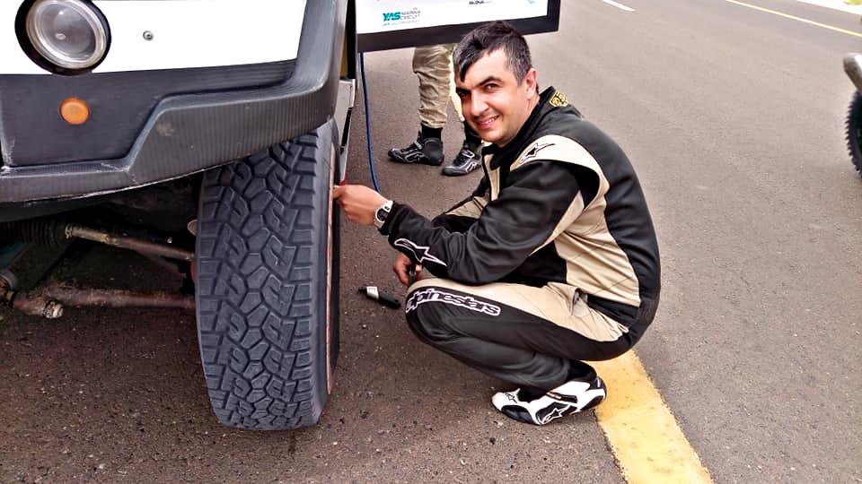 Marek Sýkora, Abu Dhabi Desert Challenge 2019