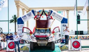 Nasser Al-Attiyah, Rally Kazakhstan 2019