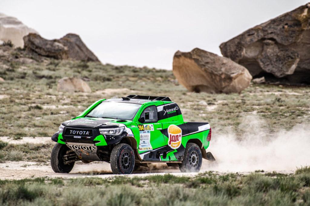 Yazeed Al-Rajhi, Rally Kazakhstan 2019