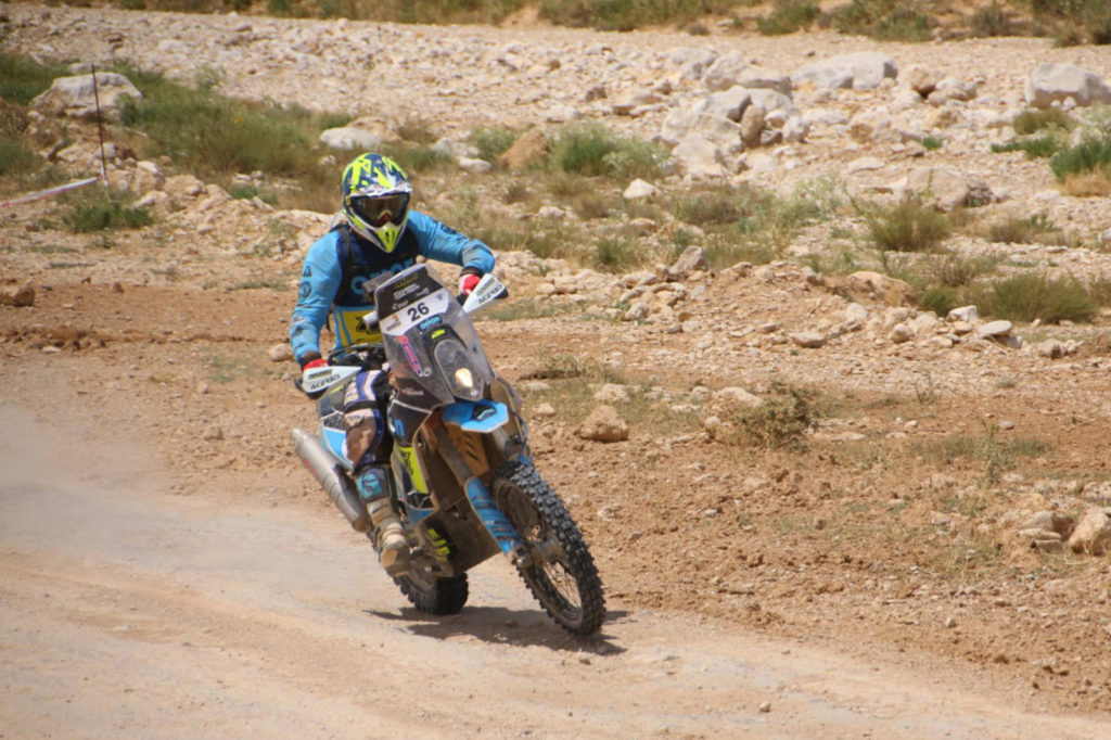 Martin Michek, Baja Aragón 2019