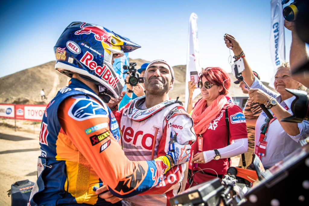 Paulo Gonçalves & Sam Sunderland, Silk Way Rally 2019