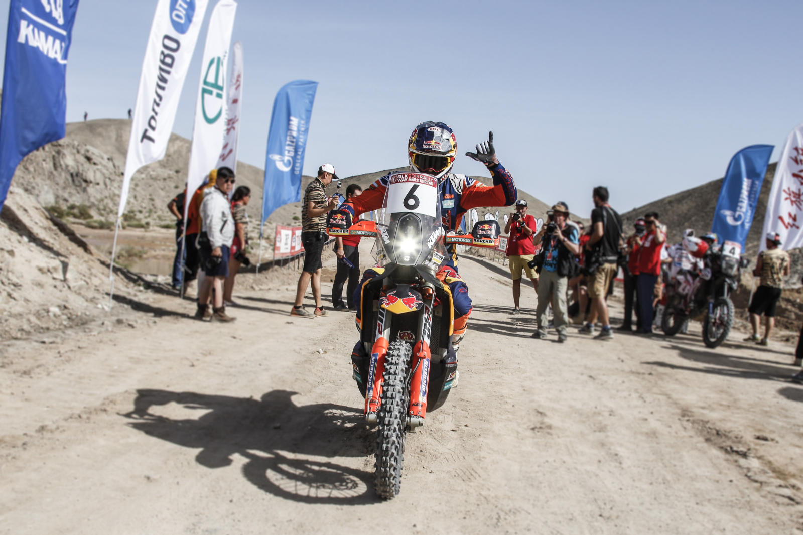 Sam Sunderland, Silk Way Rally 2019