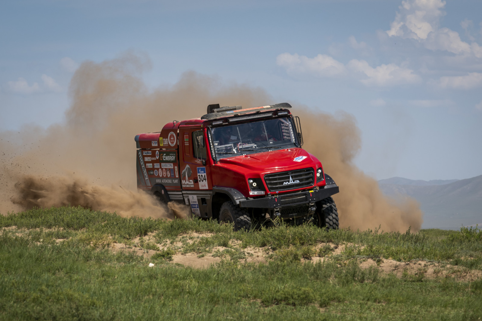 Sergej Vjazovič, Silk Way Rally 2019