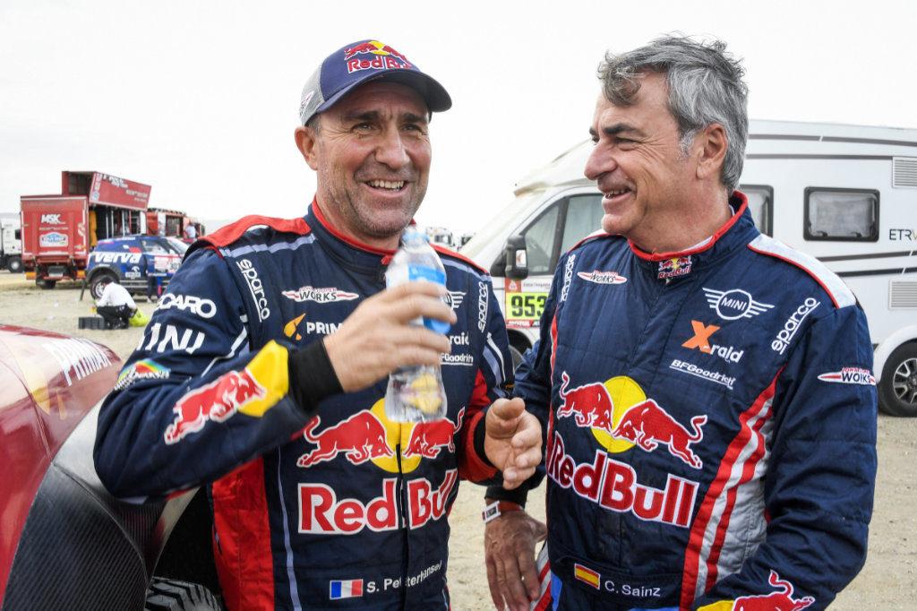 Stéphane Peterhansel & Carlos Sainz, Dakar 2019