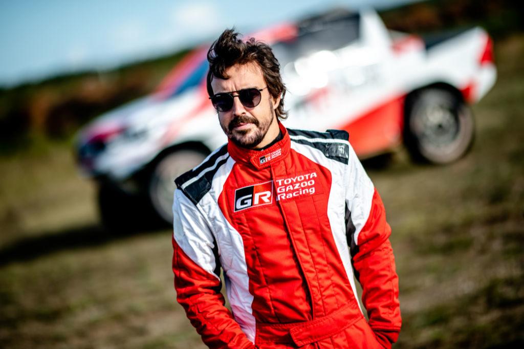 Fernando Alonso, test Drawsko 2019