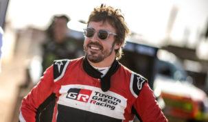 Fernando Alonso, Rallye du Maroc 2019