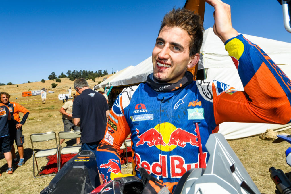 Luciano Benavides, Rallye du Maroc 2019
