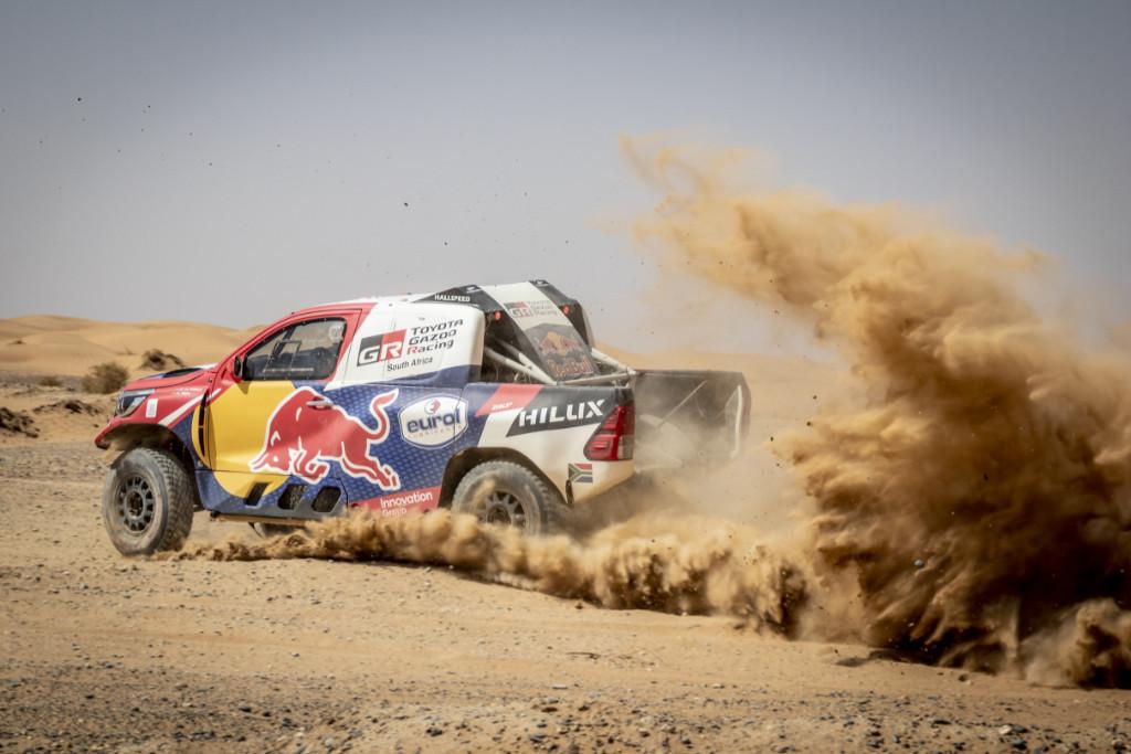 Giniel de Villiers, Test před Rallye du Maroc 2019