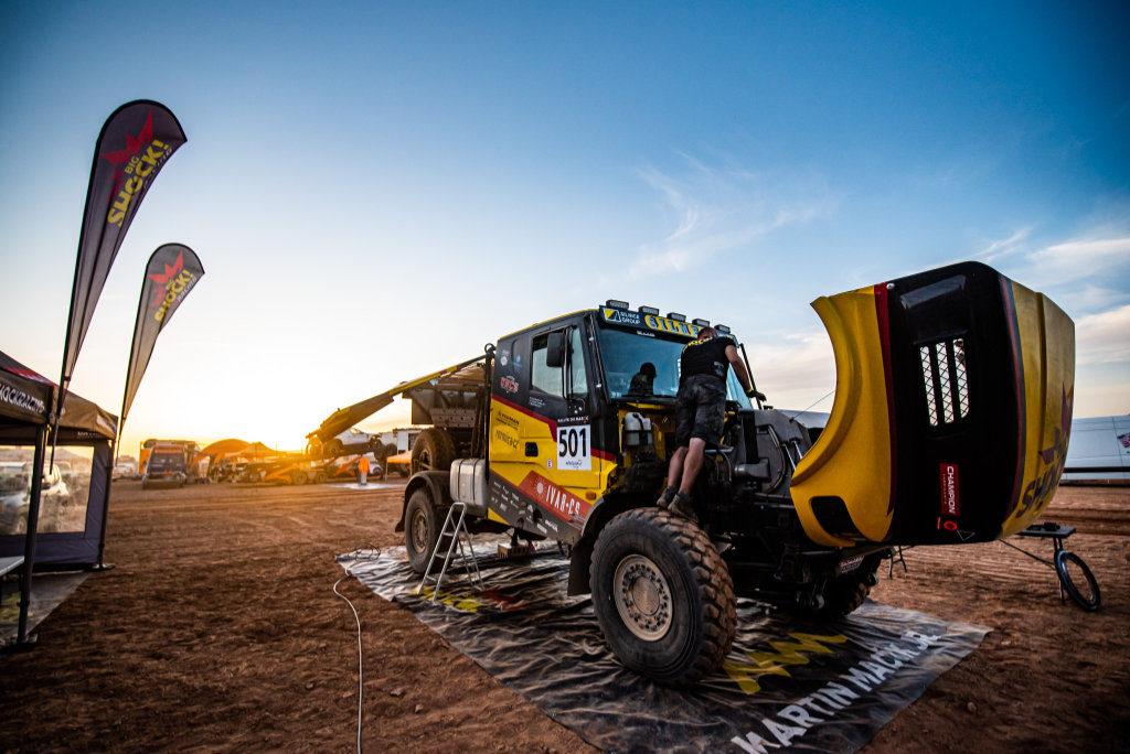 Big Shock Racing, Rallye du Maroc 2019