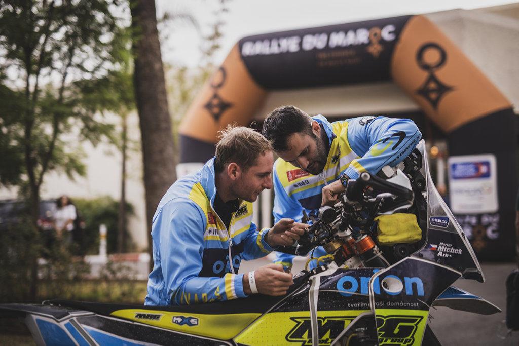 Martin Michek, Rallye du Maroc 2019