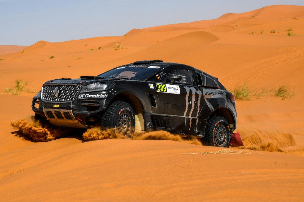 Nani Roma, Rallye du Maroc 2019