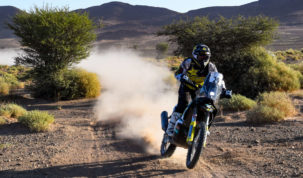 Andrew Short, Rallye du Maroc 2019